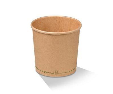 26oz/810ml PLA Paper Kraft Bowl