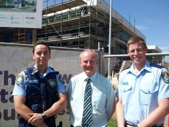 KEVIN CONOLLY WELCOMES NEW POLICE RECRUITS TO RIVERSTONE ELECTORATE