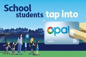 GETTING READY FOR BACK TO SCHOOL OPAL CARD