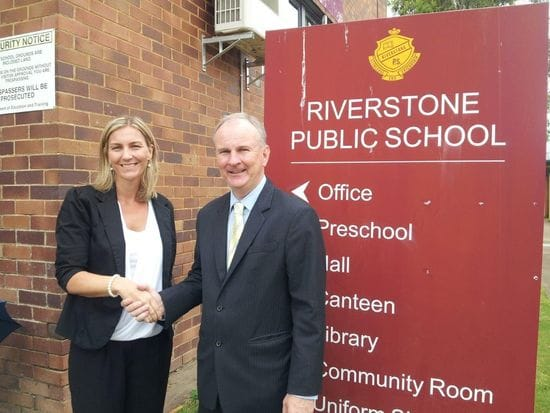 $40,000 BEFORE AND AFTER SCHOOL CARE FUNDING SHARED BY SCHOOLS IN RIVERSTONE ELECTORATE