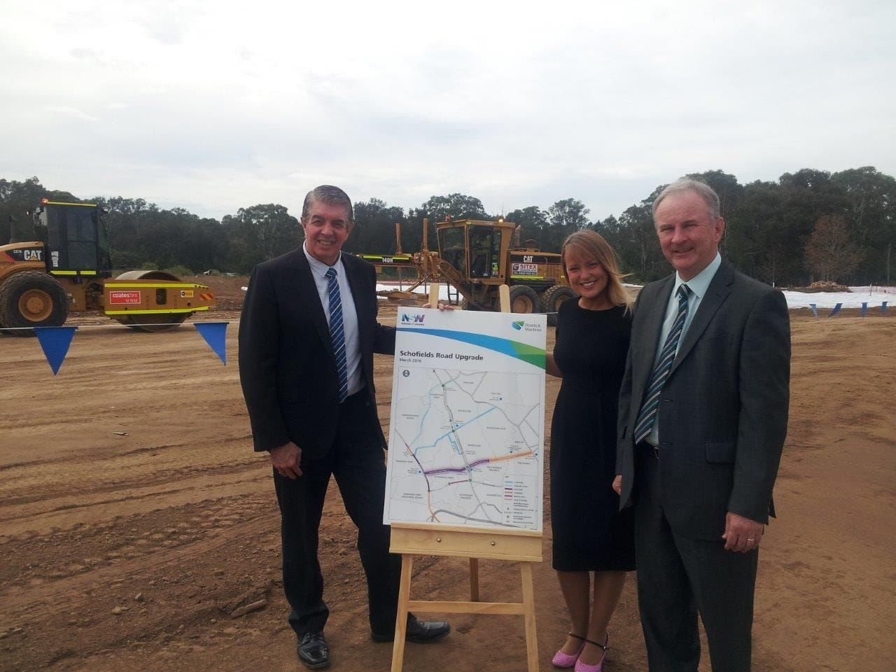 JOINT MEDIA RELEASE - WORK MOVING AHEAD ON THE FINAL STAGE OF SCHOFIELDS ROAD UPGRADE