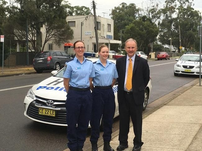 NEW POLICE RECRUITS FOR QUAKERS HILL LAC
