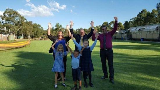 BARNIER PUBLIC SCHOOL COMPLETES OVAL REFURBISHMENT