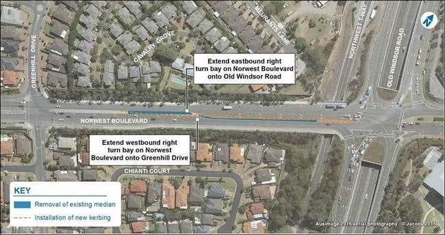 NORWEST BOULEVARD TRAFFIC FLOW IMPROVEMENTS ARE OPEN TO TRAFFIC