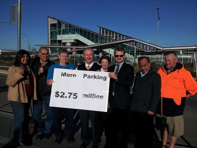 SCHOFIELDS STATION SCORES EXTRA PARKING SPACES