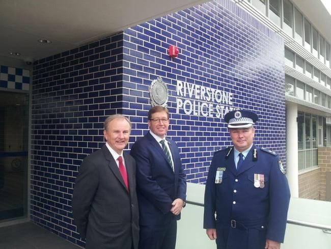 RIVERSTONE POLICE STATION OFFICIALLY OPENED