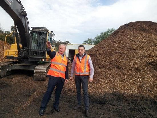 GRANT TO LOCAL RECYCLING BUSINESS TO REDUCE LANDFILL