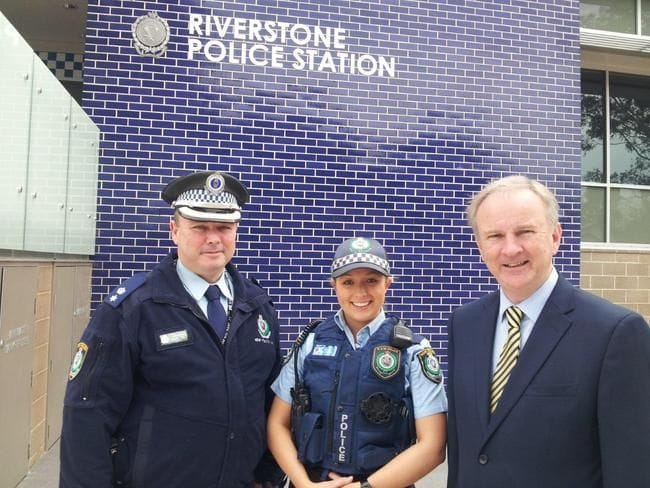 NEW POLICE RECRUIT FOR RIVERSTONE POLICE STATION