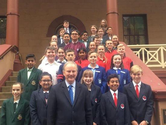 RIVERSTONE JUNIOR SCHOOL LEADERSHIP STUDENTS VISIT NSW PARLIAMENT HOUSE