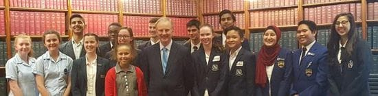 RIVERSTONE SENIOR SCHOOL LEADERSHIP STUDENTS VISIT NSW PARLIAMENT HOUSE