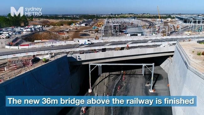 BRIDGE TO THE FUTURE OPENS AT ROUSE HILL
