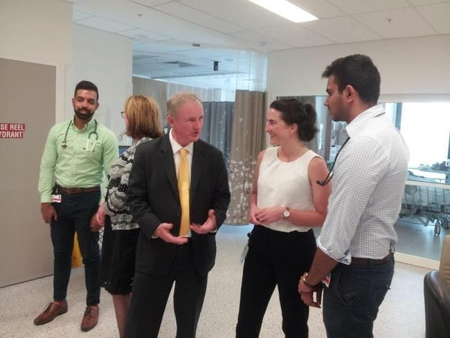 KEVIN CONOLLY WELCOMES NEW INTERN DOCTORS
