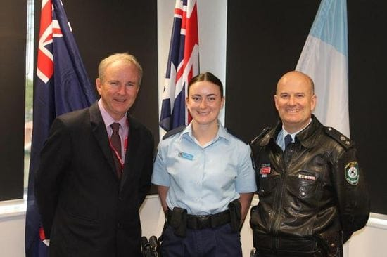 NEW POLICE RECRUIT FOR RIVERSTONE POLICE STATION - MAY 2017