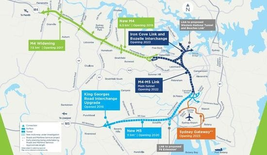 HAVE YOUR SAY - ON M4-M5 LINK CONCEPT DESIGN