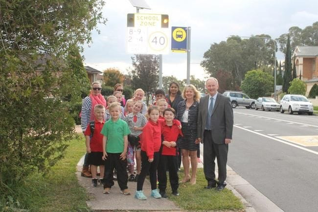 OUR SCHOOLS TO RECEIVE EXTRA SCHOOL ZONE FLASHING LIGHTS