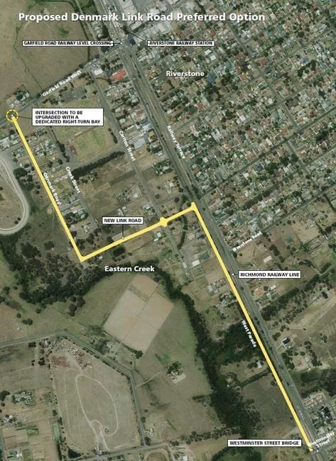PRELIMINARY WORKS TO COMMENCE AT PROPOSED DENMARK LINK ROAD, RIVERSTONE