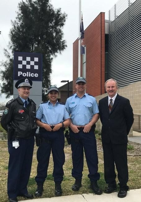JOINT MEDIA RELEASE - NEW POLICE RECRUITS FOR THE HILLS AND QUAKERS HILL LAC