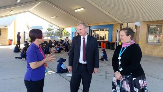 $30,000 BEFORE AND AFTER SCHOOL CARE GRANT FOR ST JOSEPH'S PRIMARY SCHOOL