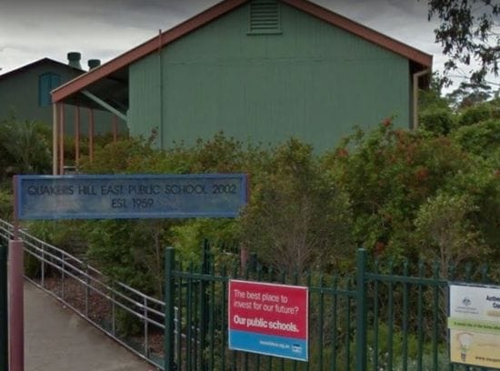 PLANS APPROVED FOR QUAKERS HILL EAST PUBLIC SCHOOL UPGRADE