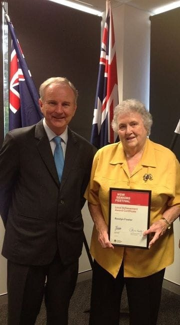 NOMINATE A SENIOR FOR A NSW SENIORS FESTIVAL LOCAL ACHIEVEMENT AWARD