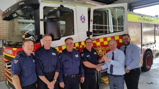 $580,000 FIREFIGHTING TRUCK FOR SCHOFIELDS