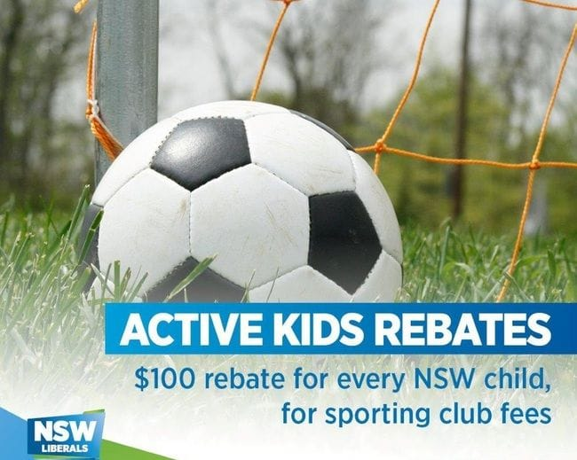 RIVERSTONE FAMILIES TOP OF THE LIST FOR ACTIVE KIDS REBATE
