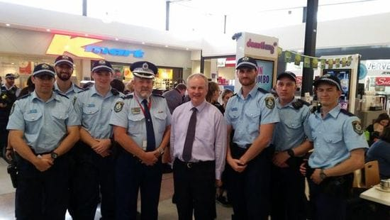 6 NEW POLICE OFFICERS FOR RIVERSTONE ELECTORATE