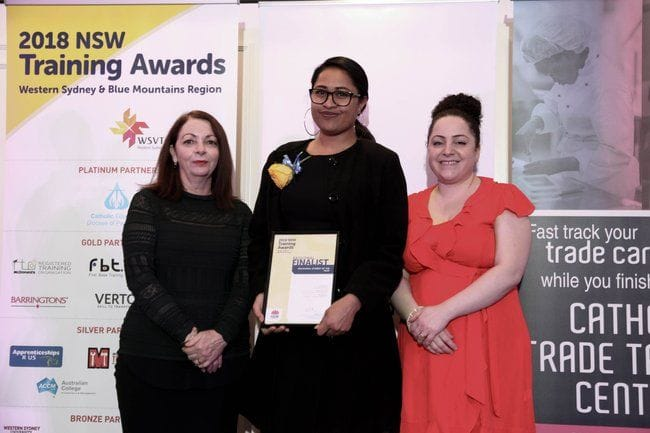 TAFE NSW NIRIMBA STUDENT WINS VOCATIONAL STUDENT OF THE YEAR AWARD