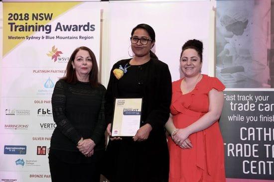 TAFE NSW NIRIMBA STUDENT WINS VOCATIONAL STUDENT OF THE YEAR AWARD