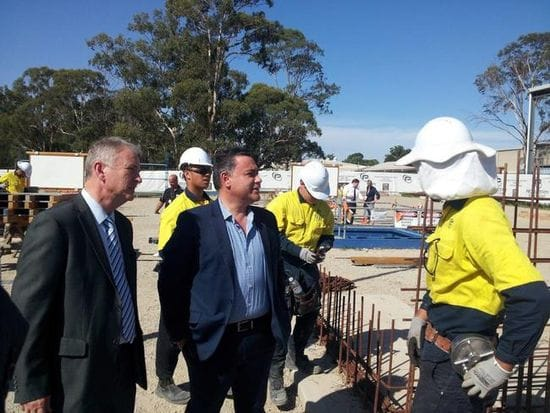 TRADIES FLOCK TO FEE-FREE APPRENTICESHIPS