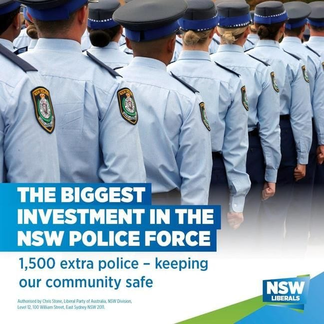 1,500 EXTRA POLICE TO KEEP THE COMMUNITY SAFE