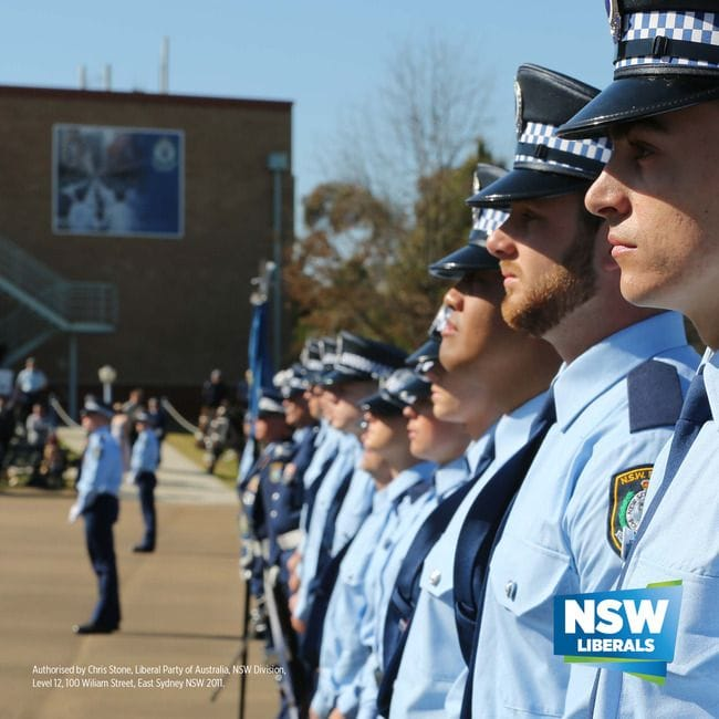 NEW POLICE OFFICER FOR QUAKERS HILL AREA COMMAND