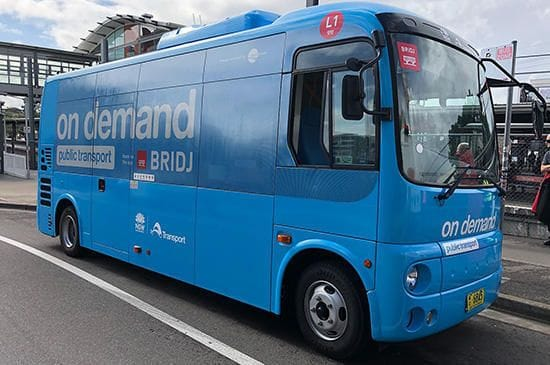 GET SET FOR ON DEMAND BUS SERVICES IN THE PONDS