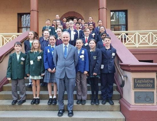 RIVERSTONE JUNIOR SCHOOL LEADERSHIP STUDENTS VISIT NSW PARLIAMENT