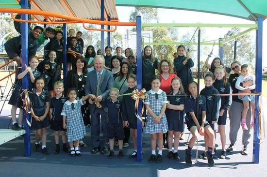 KELLYVILLE RIDGE PUBLIC SCHOOL GETS NEW PLAYGROUND FACILITY