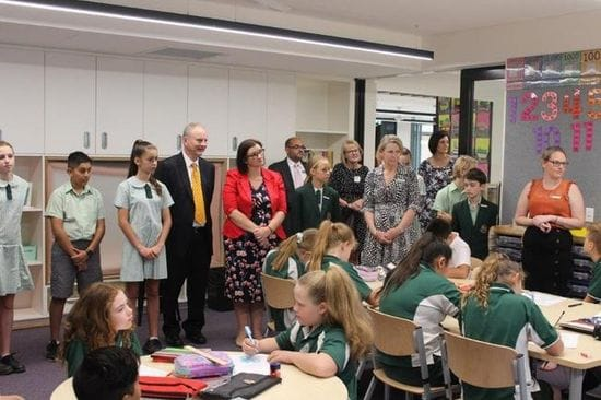 STUDENTS THE WINNERS AS QUAKERS HILL EAST PUBLIC SCHOOL UPGRADE OPENS