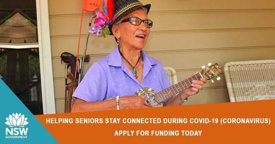 FUNDING TO COMBAT ISOLATION FOR SENIORS