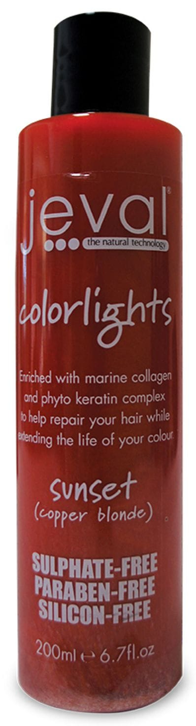 Jeval Colourlights Shampoo Sunset 200ml