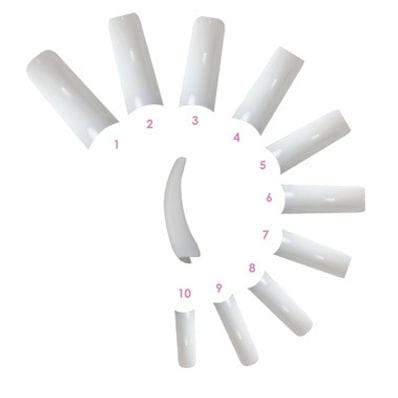 FRENCH TIPS 50PK #10
