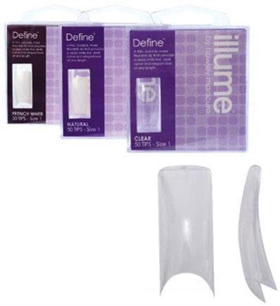 DEFINE CLEAR TIPS NO 10 50PK