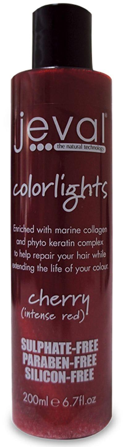 Jeval Colourlights Shampoo Cherry 200ml