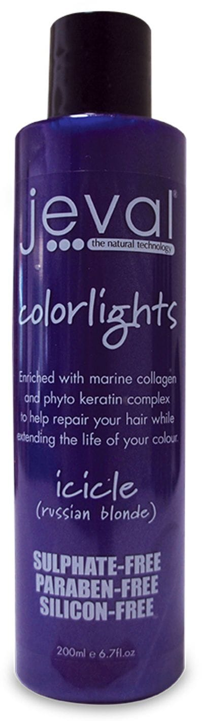 Jeval Colourlights Shampoo Icicle 200ml