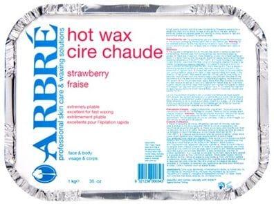 ARBRE STRAWBERRY CREAM HOT WAX 1KG