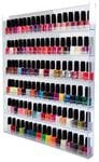ACRYLIC WALL MOUNT NAIL POLISH DISPLAY (60 COLOURS)