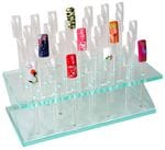 ACRYLIC COUNTER DISPLAY - 33 POPS AND STAND