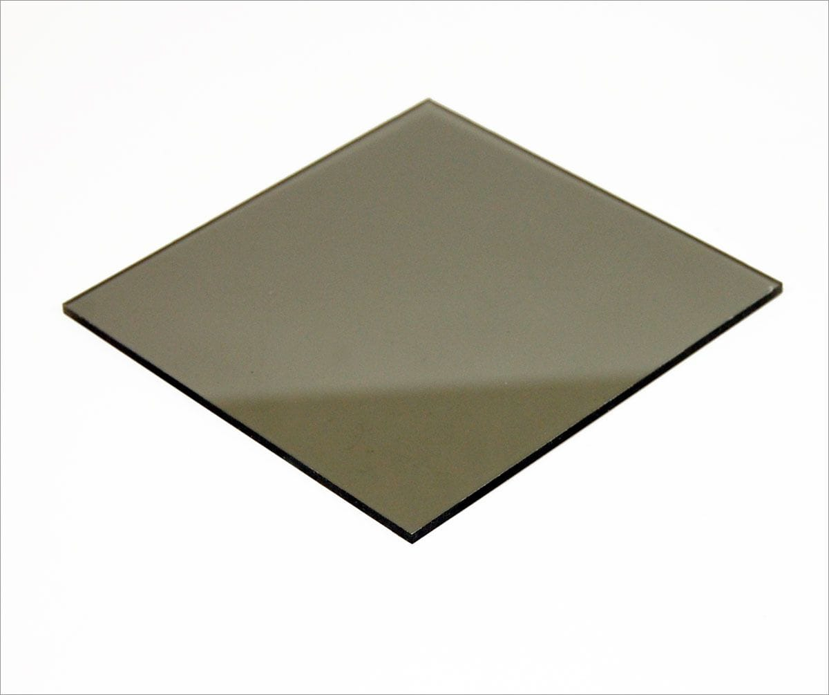Polycarbonate Grey Tint Sheet 1220 x 2440 x 3mm thick.
