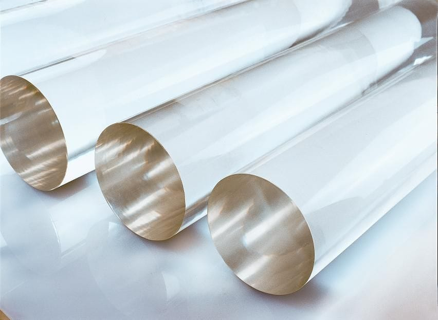 Acrylic Extruded Clear Rod Dia. 30 to 100mm