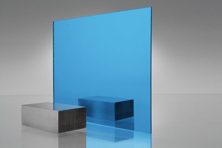 EuroMir Acrylic Sky Blue Mirror Sheet 2030 x 1525 x 3mm