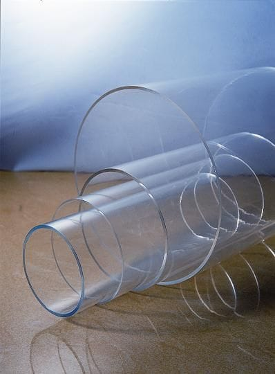 Acrylic Cast Clear Tube OD Dia.300 to 1200mm