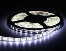 NEW LED light Strip 5M/Roll IP65 5050 Waterproof DC12V Pure white Christmas lighting